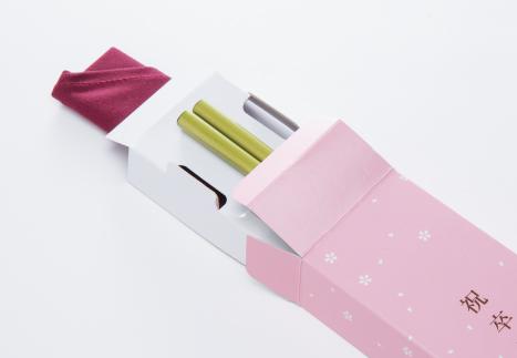 箸、箸袋セット画像